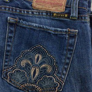 Lucky Brand Embroidered Boot